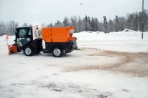 City Ranger 3500 Action Snow V blade V form Salt sand spreader 5 W Web