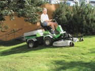 Park Ranger 2150 Action Mulch Rotary mower 1200 Web